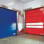 Stainless steel Quicksystem® doors.