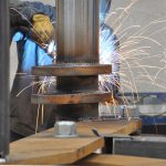 Lift table welding